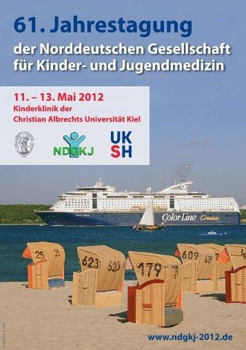61. Jahrestagung www.ndgkj-2012.de 11. - UKSH ...
