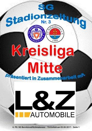 TSV  Stadionzeitung 3-2017-030917
