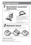 Sony NW-E105 - NW-E105 Istruzioni per l'uso Polacco - Page 6