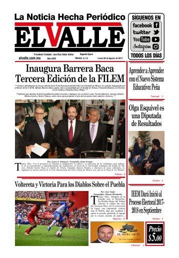 Edición de día Lunes 28 de Agosto