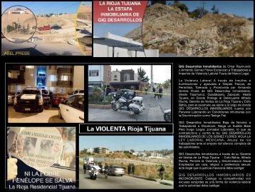 La Rioja Tijuana Residencial Venta de Casas y Departamentos en Narco Zona de Rellenos Sanitarios Pestilentes de Lujo