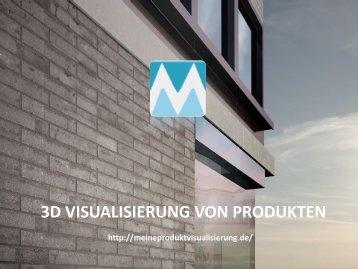 3D VISUALISIERUNG VON PRODUKTEN