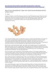 Ingwer kann selbst schwere Muskelschmerzen wirksam lindern