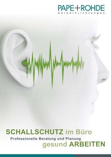 Akustik-Elemente zum Schallschutz im Büro