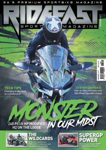 RideFast Magazine September 2017 issue