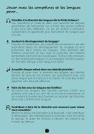 26 comptines pour découvrir les langues Livret à feuilleter - Page 3