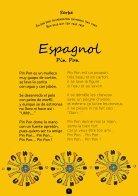 26 comptines pour découvrir les langues Livret à feuilleter - Page 6