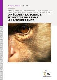 Améliorer la science et mettre un terme à la souffrance (primates)