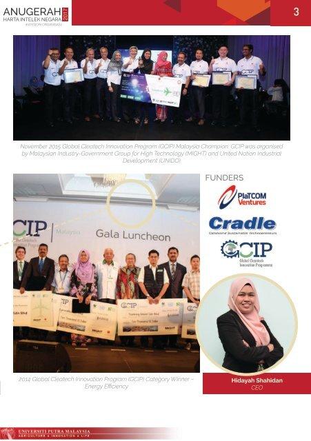 UPM Malaysia Start-up Company Succes Story