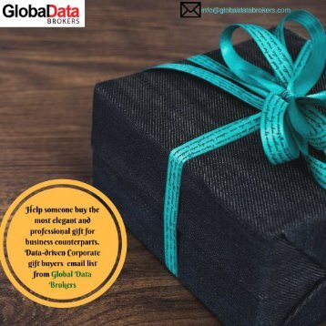 Get Verified Corporate Gift Buyers Email List