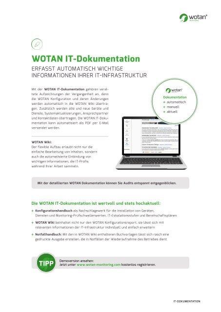 WOTAN IT-Dokumentation - Erfasst Ihr IT-Netzwerk
