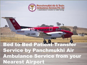 Hi-Tech and Reliable Air Ambulance Service from Guwahati to Bangalore