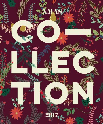 CATALOGUE THE COLLECTION XMAS 2017 ENGLISH