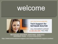 Netgear router tech support number call +1-855-490-2999