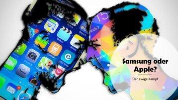 Samsung Galaxy oder Apple Iphone?