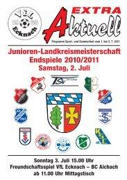 extra - VfL Ecknach