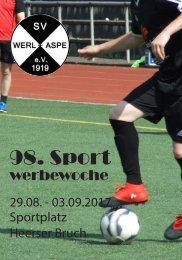 98. Sportwerbewoche SV Werl-Aspe 2017