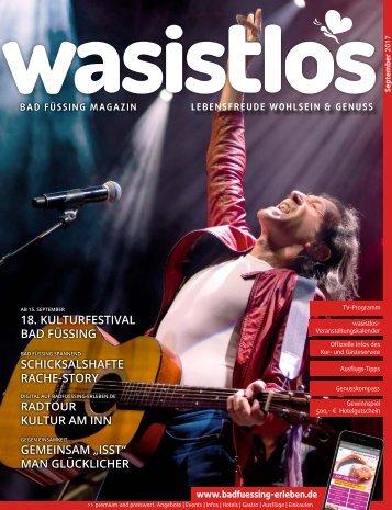 wasistlos badfüssing magazin September 2017