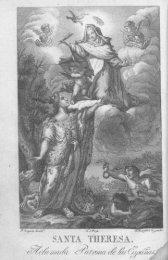Santidad, Gloria y Prodigios de Santa Teresa de Jesus Tomo I