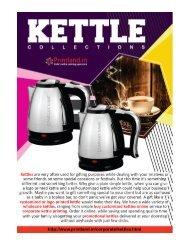 Buy Promotional or Corporate Logo Printed Kettles Online in India - PrintLand.in