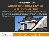 Roof Maintenance in Ringgold Ga