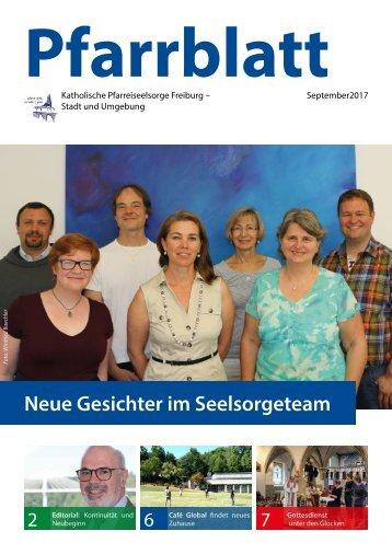 2017-09 Pfarrblatt Freiburg