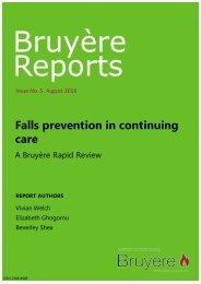 Falls Prevention in Continuing Care