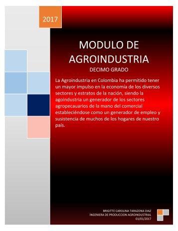 MODULO AGROINDUSTRIA 10