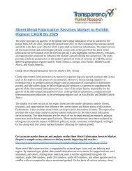 Sheet Metal Fabrication Services Market