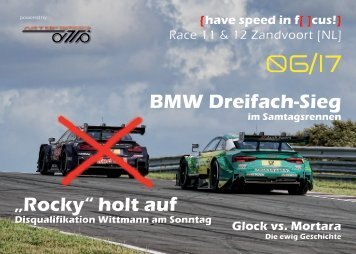 {have speed in f[ ]cus!} DTM Race 11 & 12 Zandvoort [NL]