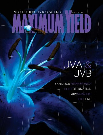 Maximum Yield Modern Growing | USA Edition | March 2017
