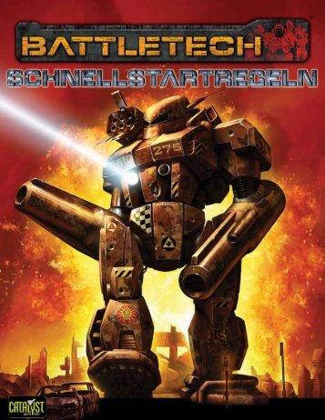 BattleTech Schnellstartregeln (PDF) - Ulisses Spiele