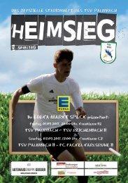 TSV Palmbach Saison 17-18 Heft 02