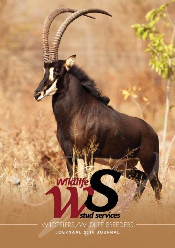 Wildlife Breeders Journal 2016