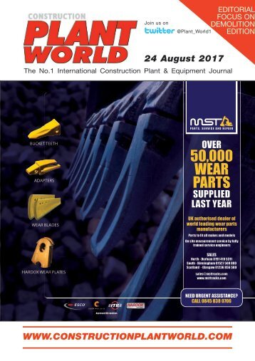 Construction Plant World 24th August 2017