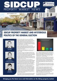 SIDCUP PROPERTY NEWS - SEPTEMBER 2017