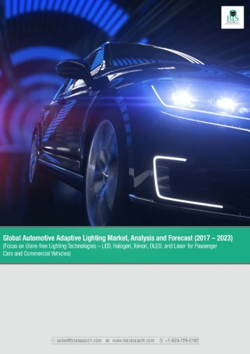 Global Automotive Adaptive Lighting Market, Analysis and Forecast