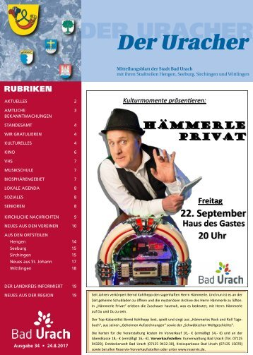 Der Uracher KW 34-2017