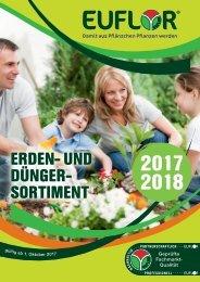 EUFLOR Sortimentskatalog 2017 / 2018
