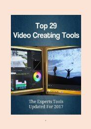 Top 29 Video Creating Tools