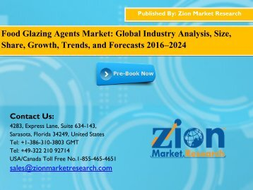 Food Glazing Agents Market