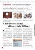 Filter-Innovation für störungsfreie Kühlung - Reisner AG ... - Seite 2