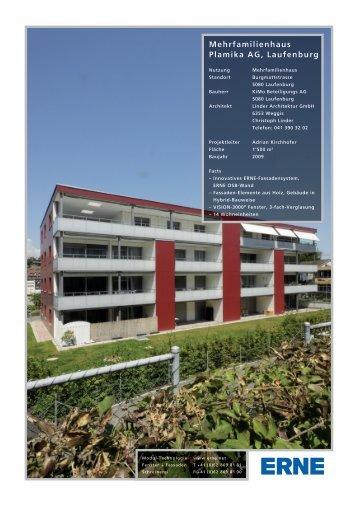Mehrfamilienhaus Plamika AG, Laufenburg - ERNE AG Holzbau
