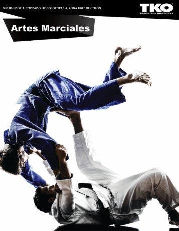 CATALOGO ARTES MARCIALES TKO 2017