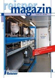 Juli 2009 - Reisner AG Kältetechnischer Anlagenbau
