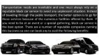 Benefits of Hiring a Black Car Service - Page 2