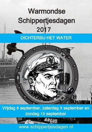 Boekje warmondse schippertjesdagen 2017