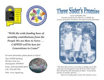 Three Sister's Promise Booklet Final Final