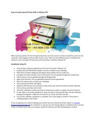 How to Install Lexmark Printer With or Without CD