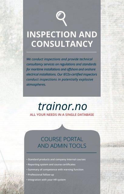 Trainor - english brochure
